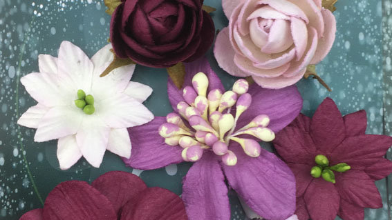 Green Tara Rustic Collection Purple