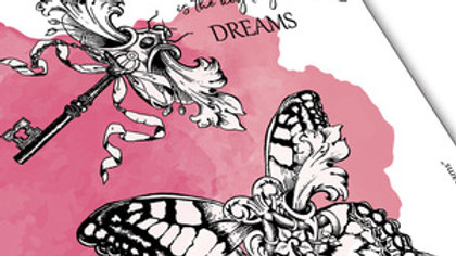 """Carabelle Studio Rubber Stamp - """"Key to Dreams"""""""