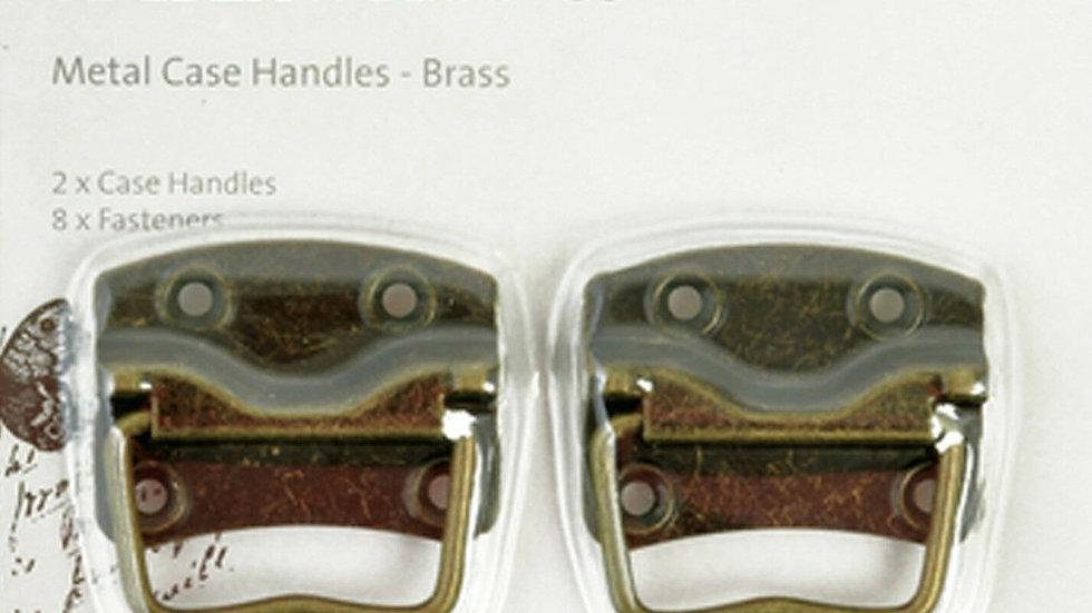 Kaisercraft Metal Case Handles - Brass