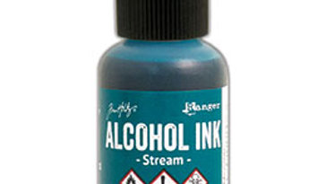Alcohol Ink - Stream