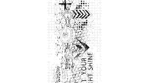 Studio Light Clear Stamp - 494 Grunge Collection