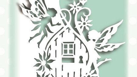 Creative Expressions  Fairy Door Edger