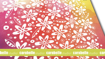 Carabelle Texture Plate - Flowers and Leaves