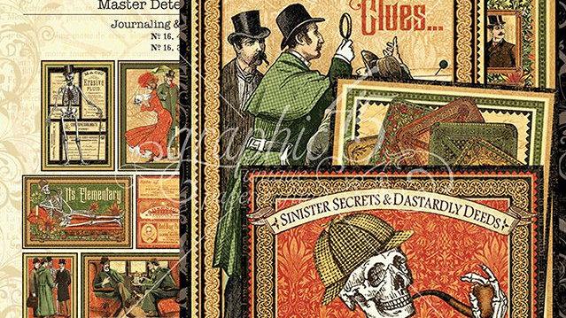Master Detective - Journalling & Ephemera Cards