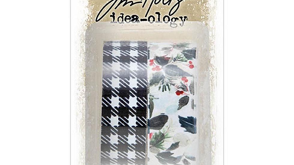 Tim Holtz Fabric Tape - Christmas