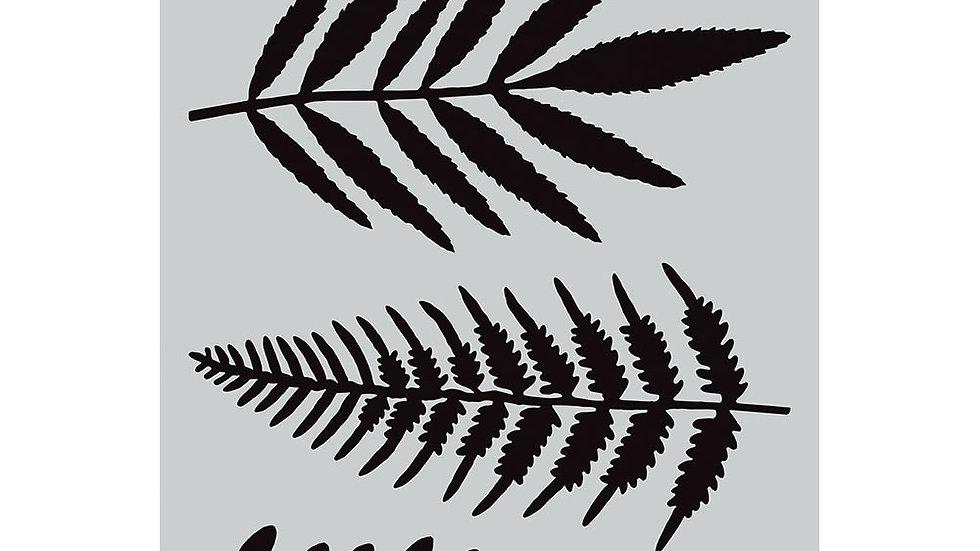 Darkroom Door Large Stencil - Ferns