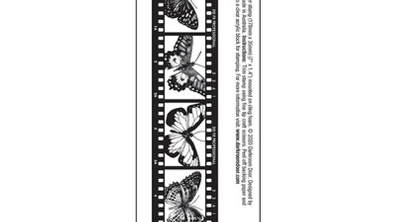 copy of Darkroom Door Stamps  Film strip Butterflies