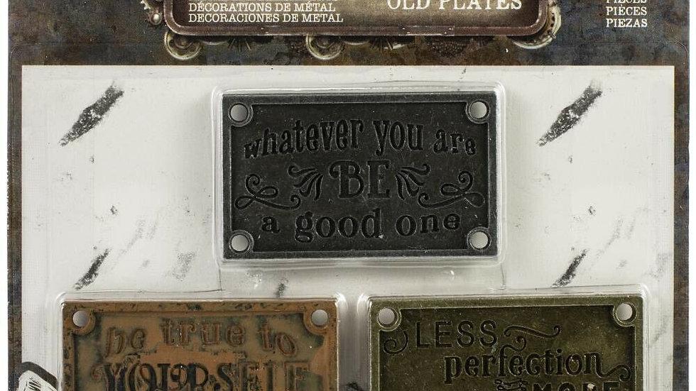 Finnabair Mechanicals - Old Plates
