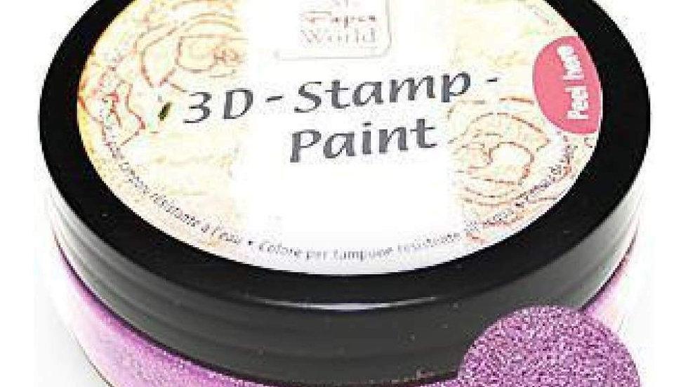 Viva 3 D Stamp paint Magenta