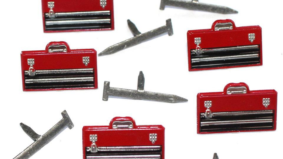 tool box Brads 12  pieces