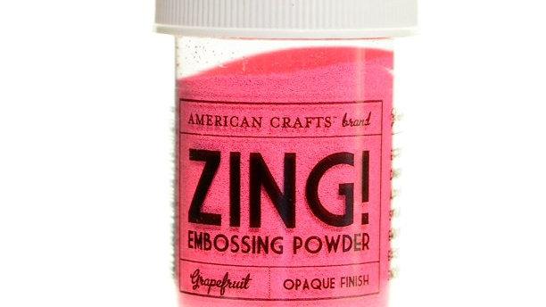 American Crafts Embossing Powder -Grapefruit