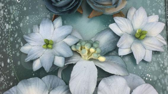 Green Tara  Rustic Collection   blue