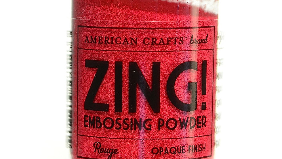 American Crafts Embossing Powder - Rouge