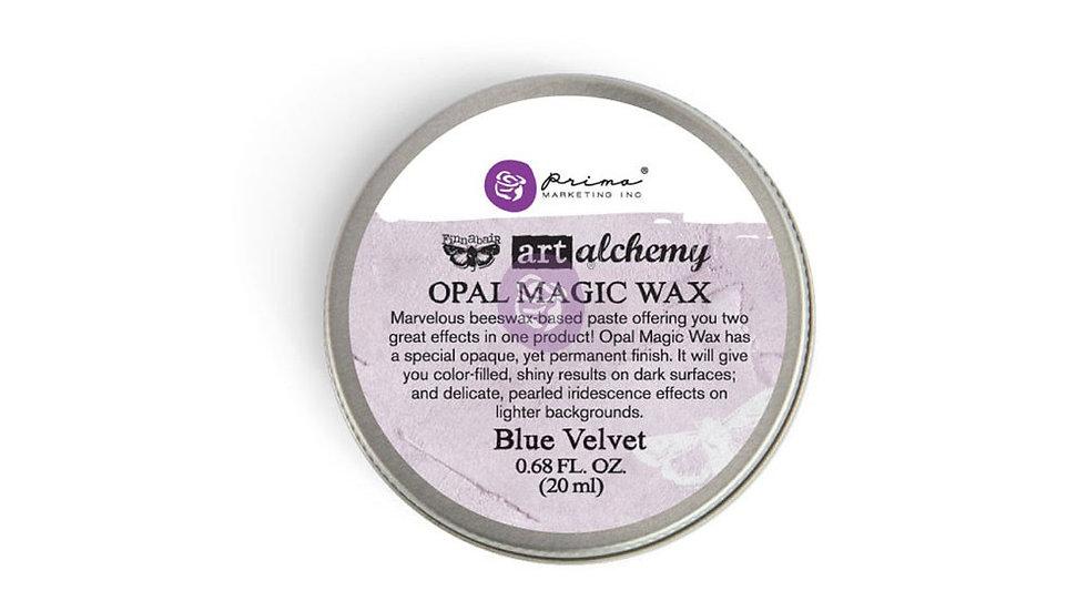 Art Alchemy-Opal Magic Wax-Blue velvet  .68oz (20ml)