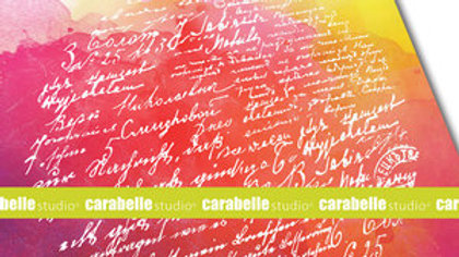 Carabella Texture plate round  Correspondences