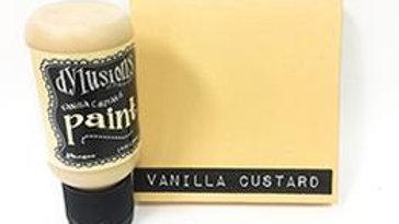 dylusions paint Vanilla Custard