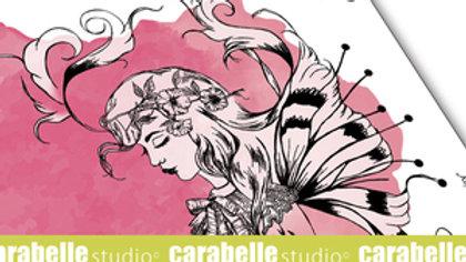 "Carabelle  Studio Art Stamp  ""Sketch Fairy"""