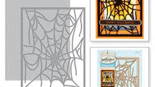 Spellbinder  Spider web Card Front