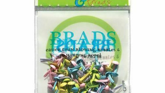 Spring time  Brads 4 mm 70 pieces