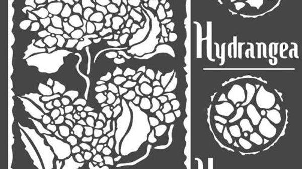 Stamperia  Stencil  hydrangea