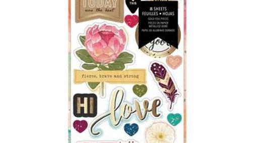 Vicki Boutin StoryTeller sticker book