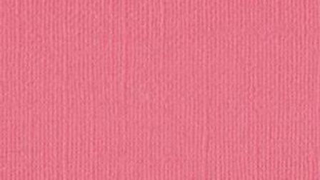 Down Under Cardstock - Pink Salmon pkt of 4 sheets