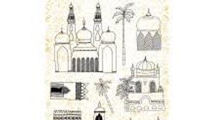 Art By Marlene Artsy Arabia stamp 58