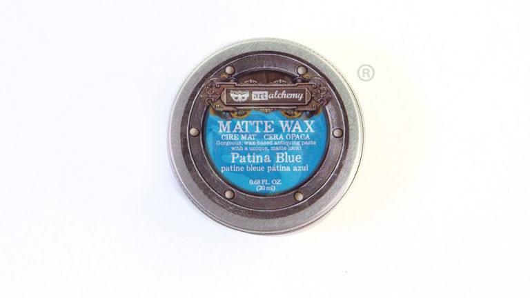 Art Alchemy-Matte Wax – Patina Blue.68oz (20ml)