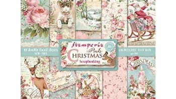 Stamperia Pink Christmas  8 x8