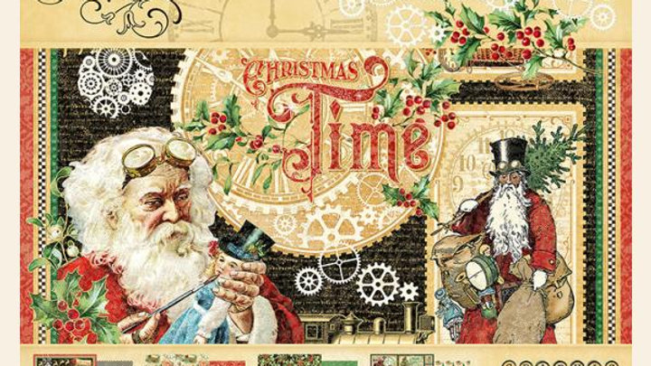 Graphic 45 Christmas time 8 x 8 collection pack