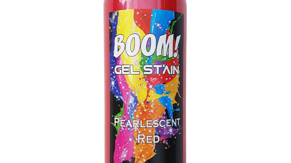 Boom Gel Stain Pearlescent Red