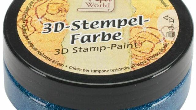 Viva 3D Stamp Paint  Turquoise