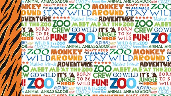 Carta Bella  Zoo Adventure  Stay Wild