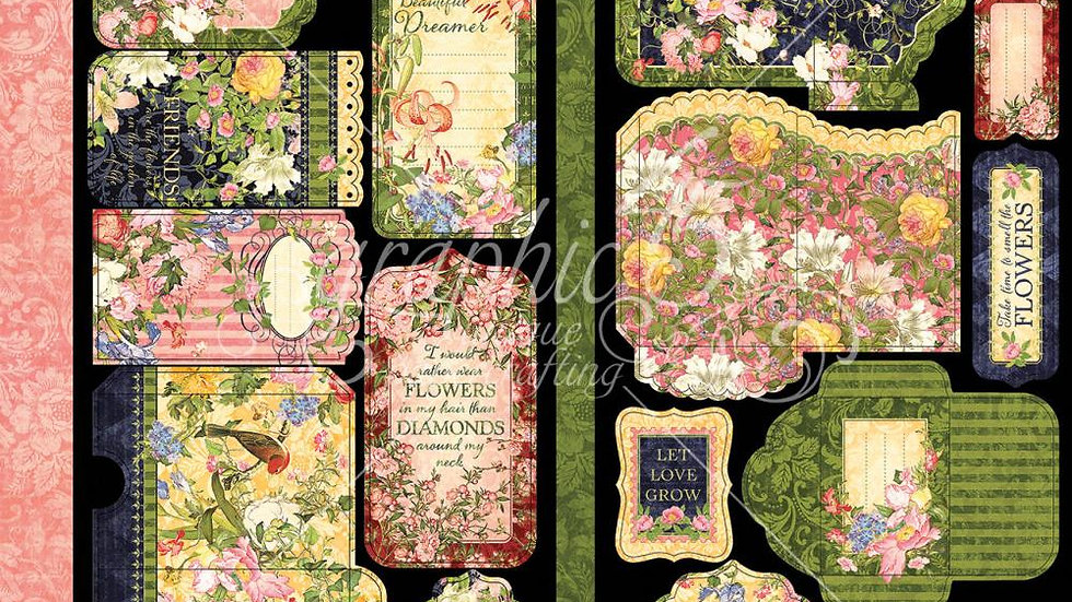 Floral Shoppe - Cardstock Diecuts
