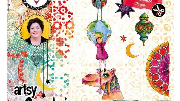 Art by Marlene  Artsy Arabia Paper  Elements Set 1