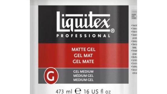 Liquitex - Matte Gel 473ml