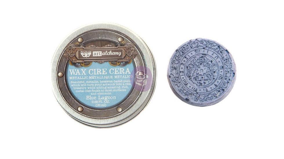 Art Alchemy-Metallique Wax – Blue Lagoon .68oz (20ml)