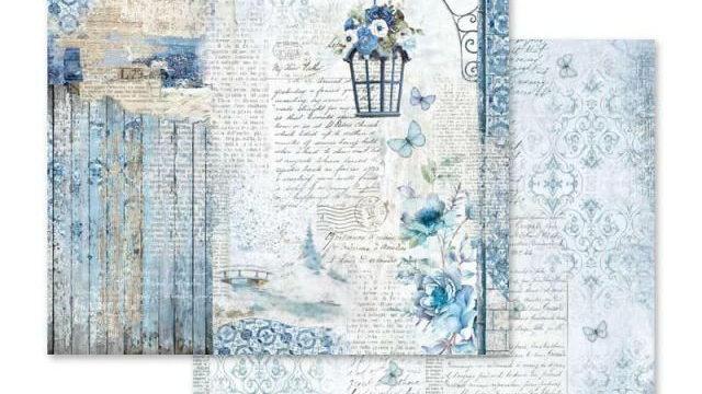 Stamperia Blue Land - SBB562