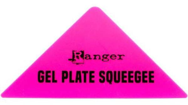 Gel plate Squeegee