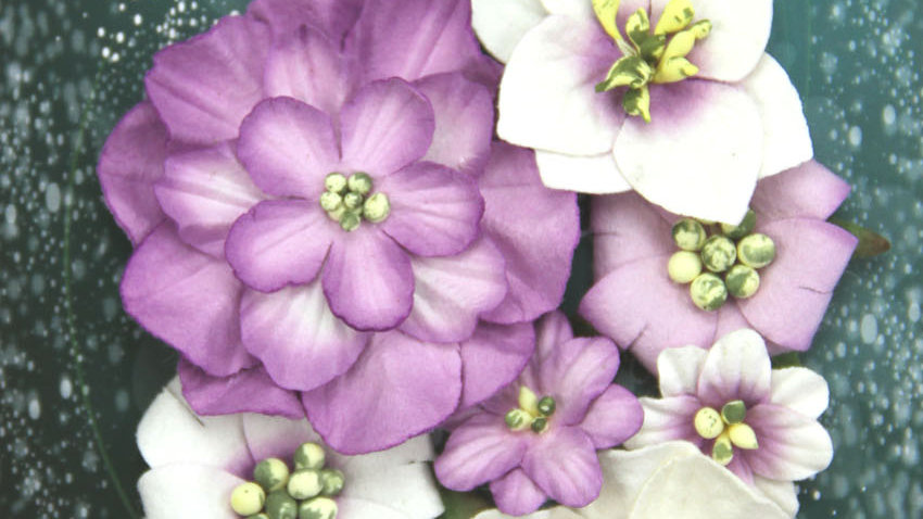 Green Tara Fantasy Blooms Lavender