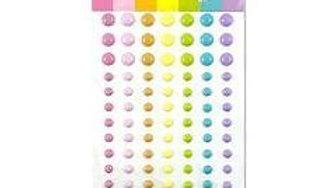 Waffle Flower Enamel Dots  JJs rainbow