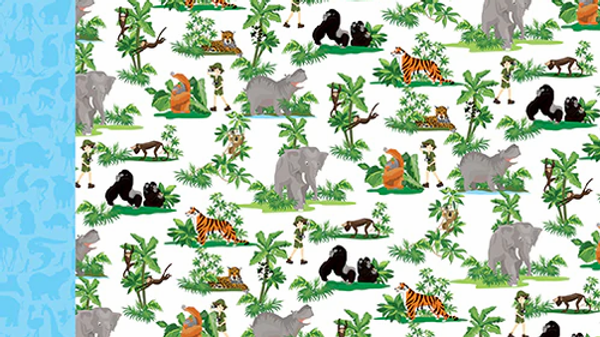 Carta Bella Zoo Adventure Jungle Animals