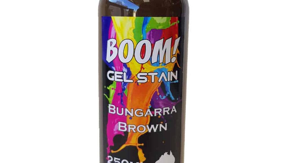 Boom Gel   Bungarra  Brown Stain