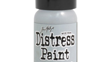 Distress Paint Weathered Wood    Flip top