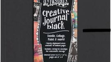 Dylusions Creative Journal - Square Black