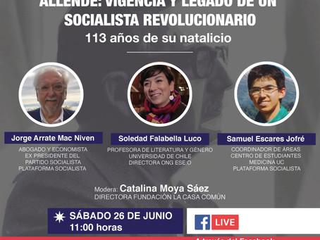 Conversatorio Allende: vigencia y legado de un socialista revolucionario