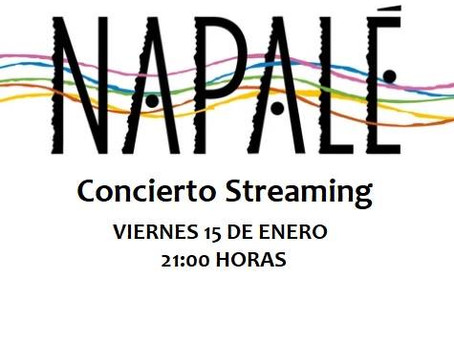Concierto NAPALÉ en streaming