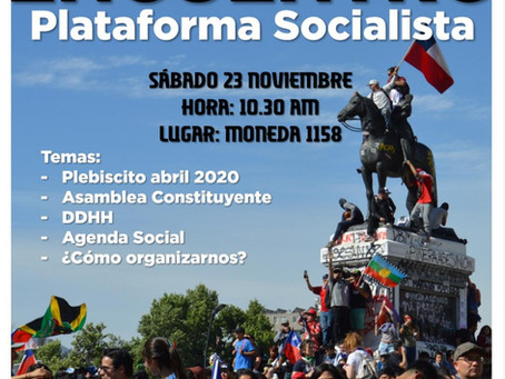 Encuentro Plataforma Socialista