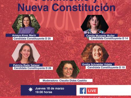 En vivo Conversatorio Feminismo y Nueva Constitución