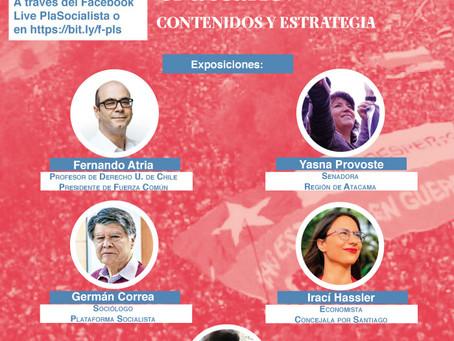 Foro Nueva Constitución, el desafío. Contenidos y estrategias